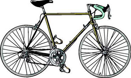 Sportvector клипарт велосипеды