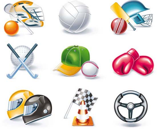 Sport icons спорт вектор