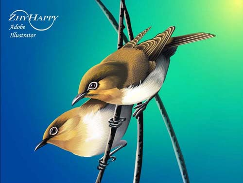 Birdsvector птицы вектор